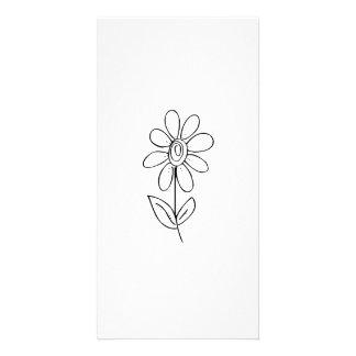 Fleur Photocarte Personnalisée