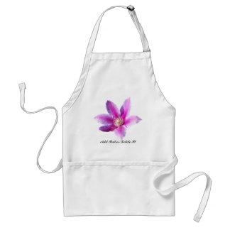 Fleur de clématite tabliers