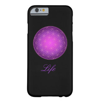 Fleur de coque iphone de monogramme de la vie coque iPhone 6 barely there
