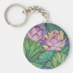 Fleur de Lotus Keychain Porte-clé