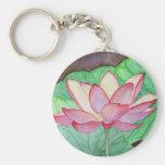 Fleur de Lotus Keychain Porte-clés