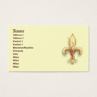 Fleur-De-Lys! Visitenkarte