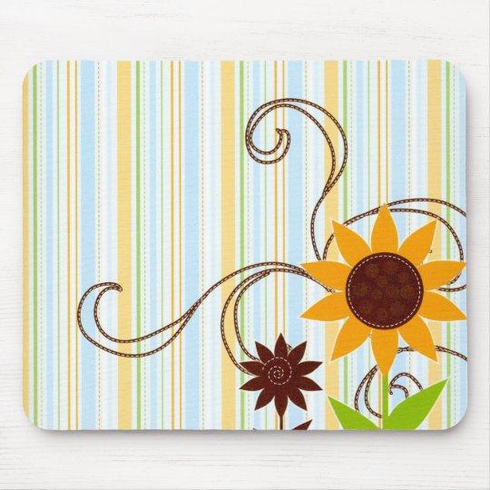 Fleur de Sun Tapis De Souris