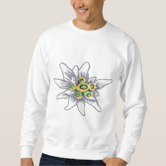 Fleur d'edelweiss sweatshirt