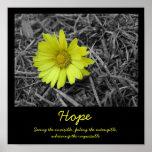 Fleur d'espoir poster
