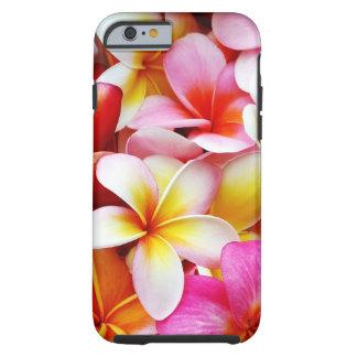 Fleur d'Hawaï de Frangipani de Plumeria customisée Coque iPhone 6 Tough