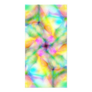 Fleur du lutin carte avec photo