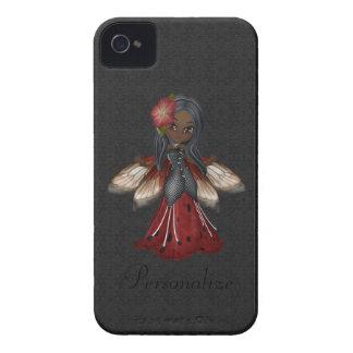 Fleur gothique mignonne Blackberry féerique Coques iPhone 4 Case-Mate