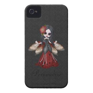 Fleur gothique mignonne Blackberry féerique Coque iPhone 4