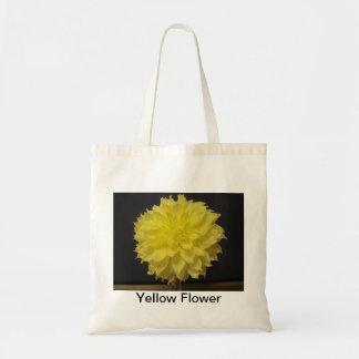 Fleur jaune Fourre-tout Sac En Toile Budget