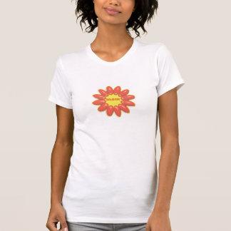 Fleur lumineuse pour la maman t-shirt