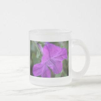 Fleur Mug En Verre Givré