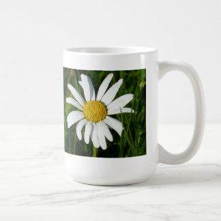Fleur pâquerette fleur de pré Flower Daisy Mug Blanc