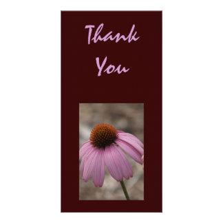 Fleur Photocard de Merci Cartes Avec Photo