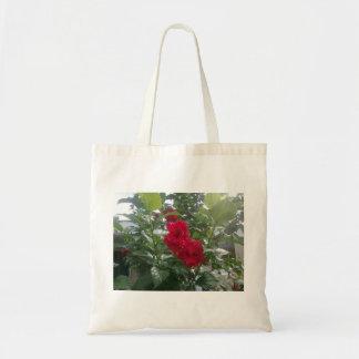 fleur sac en toile budget