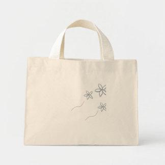 fleur sac en toile mini