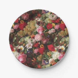 Fleuresse botanisch pappteller 17,8 cm
