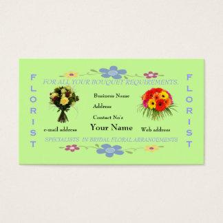 Fleuristes Cartes De Visite