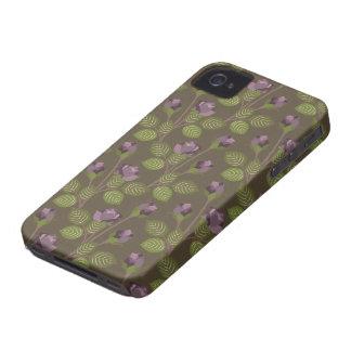 Fleurs assez pourpres BlackberryBold97009780 Étuis iPhone 4