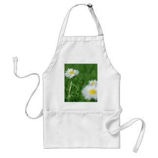 Fleurs blanches tablier