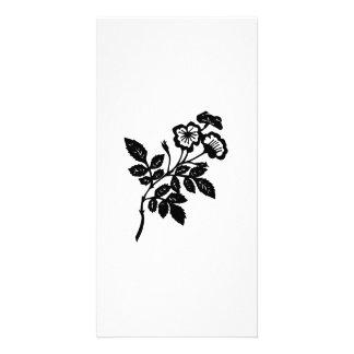 Fleurs Photocarte Personnalisée