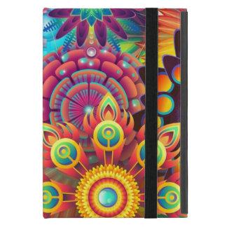 Fleurs colorées coques iPad mini