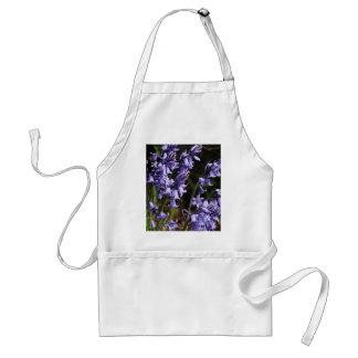 Fleurs de jacinthes des bois tablier