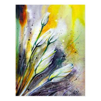 Fleurs d'hiver cartes postales