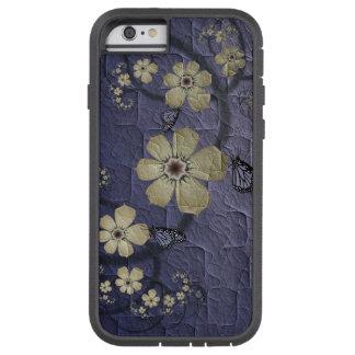 Fleurs et papillons coque tough xtreme iPhone 6