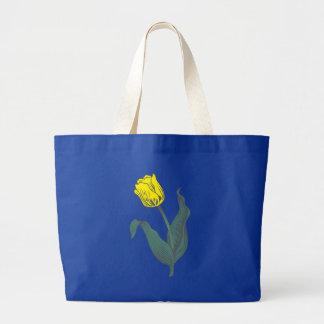 Fleurs flowers sacs en toile