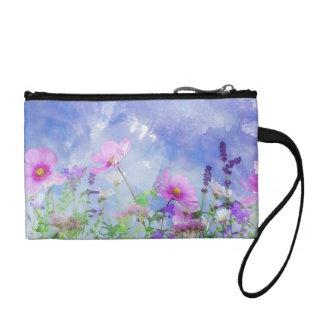 Fleurs pour aquarelle portefeuille