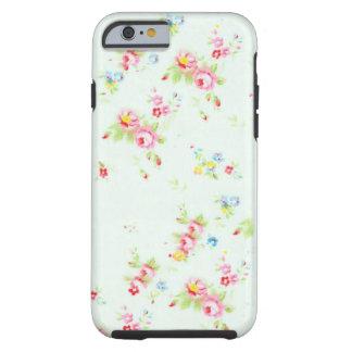 Fleurs roses minables florales chics vintages de r coque tough iPhone 6