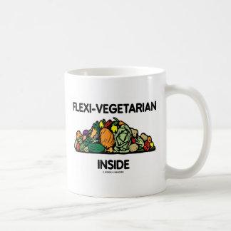 Flexi-Vegetarier Innere (Stapel des Gemüses) Kaffeetasse