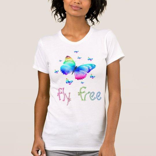 Fliege geben frei T-Shirt