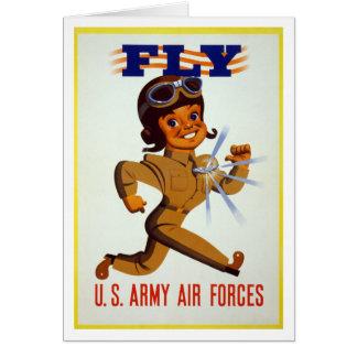 Fliege - US-Armee-Luftwaffen Karte