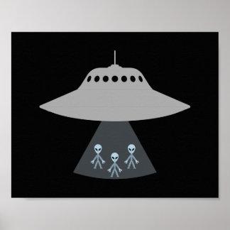 Fliegen-Disc-Plakat Poster