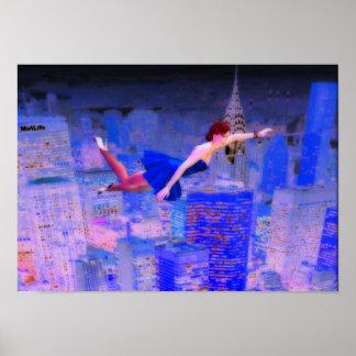 Fliegen durch die Geisterwelt Poster