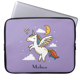 Fliegen-Einhorn Laptopschutzhülle
