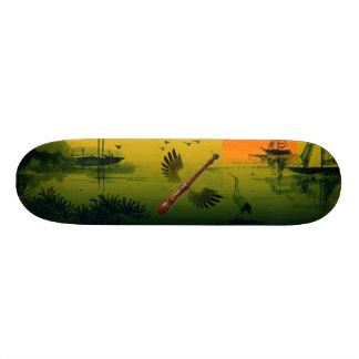 Fliegen-Flöte 21,6 Cm Skateboard Deck