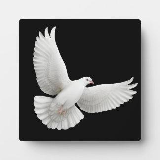 Fliegen-Friedenstauben-kundengerechte Plakette Fotoplatte