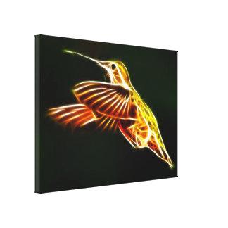 Fliegen-Kolibri Leinwanddruck