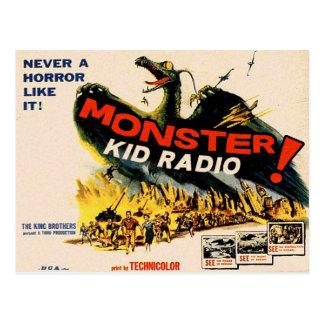 Fliegen-Monster von der Postkarte