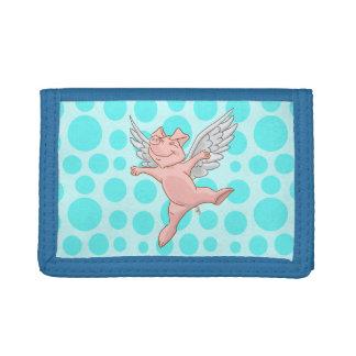 Fliegen-Schwein-Geldbörse