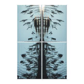 """Fliegen Sie frei"" abstrakten Galerie-Leinwand Leinwanddruck"