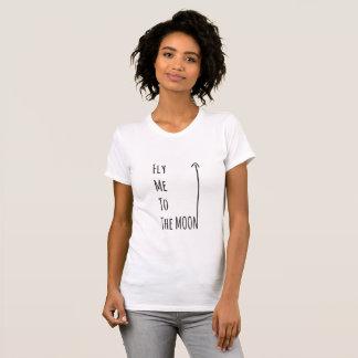 Fliegen Sie mich zum Mond - der Gluten-freie T-Shirt