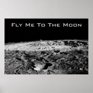 Fliegen Sie mich zum Mond Poster