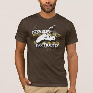 Fliegen Sie wie die Vögel, kitesurf Lehrer-Shirt T-Shirt