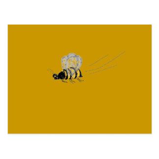 Fliegen-Wespe Postkarte