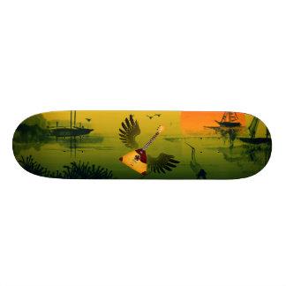 FliegenBalalaika 20,1 Cm Skateboard Deck