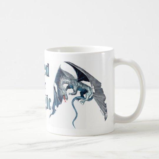 Fliegender blauer Drache - Bedarf an der Magie Tasse